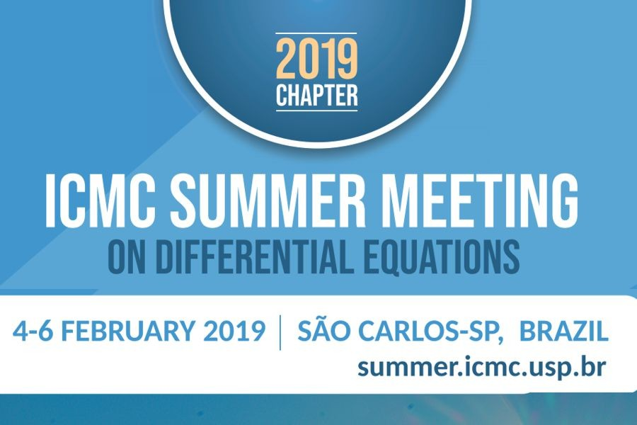 ICMC Summer Meeting on Differential Equations 2019 Chapter