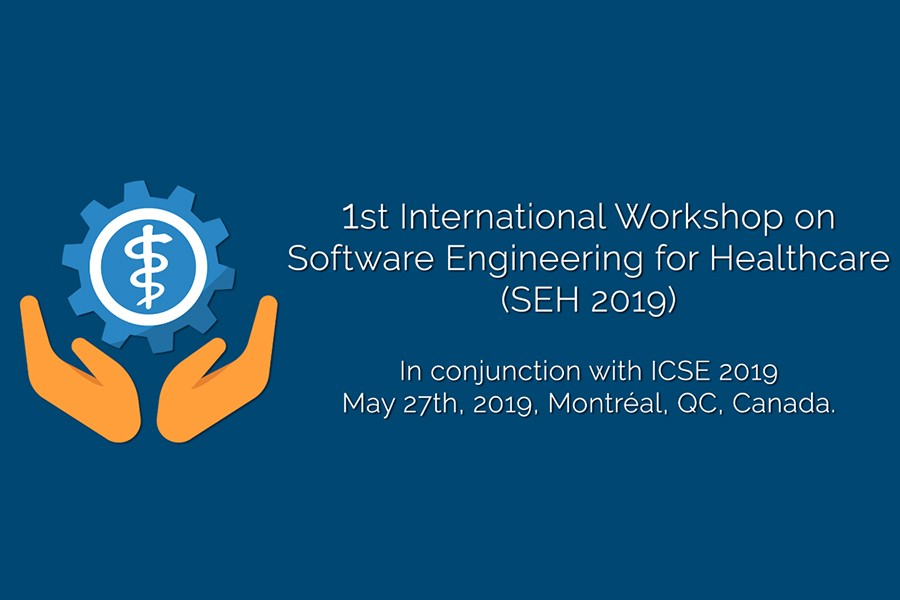 Prazo para submeter trabalhos na International Workshop on Software Engineering for Healthcare termina em fevereiro