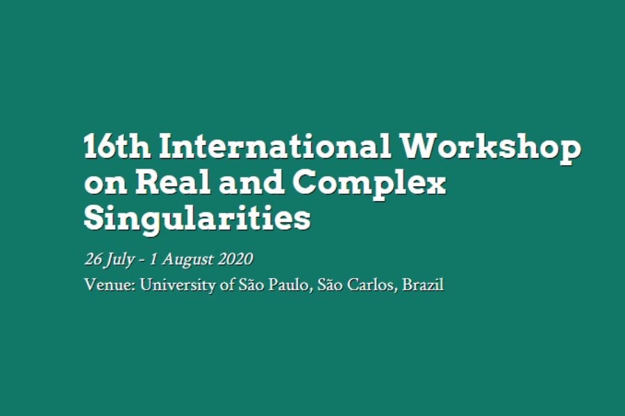 16th International Workshop on Real and Complex Singularities